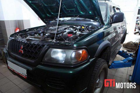 Ремонт и обслуживание Mitsubishi в СПб