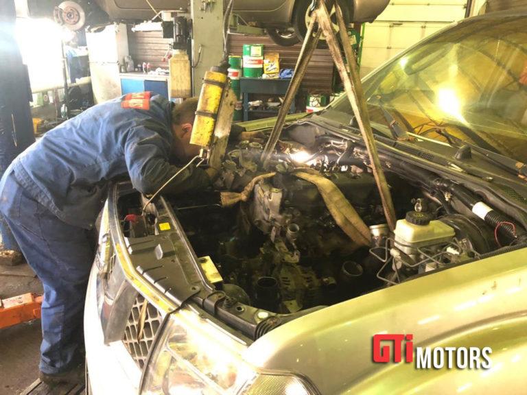 Замена двигателя - фото 4